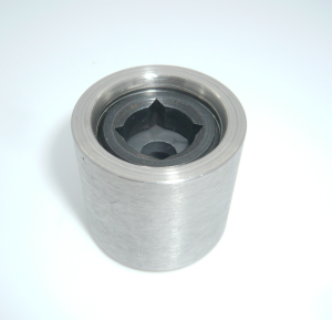 High-pressure carbide jet nozzle assembly (SS-316)